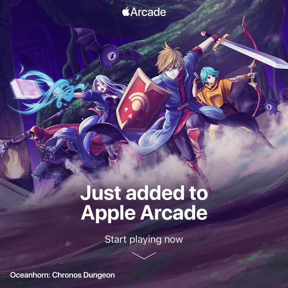 Oceanhorn: Chronos Dungeon is latest addition to Apple Arcade
