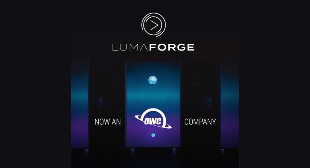 OWC acquires LumaForge and Jellyfish Technologies