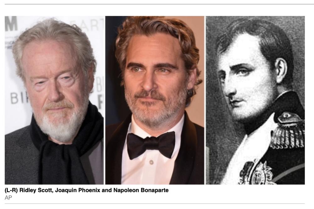 Napoleon Bonaparte epic starring Joaquin Phoenix coming to Apple TV+