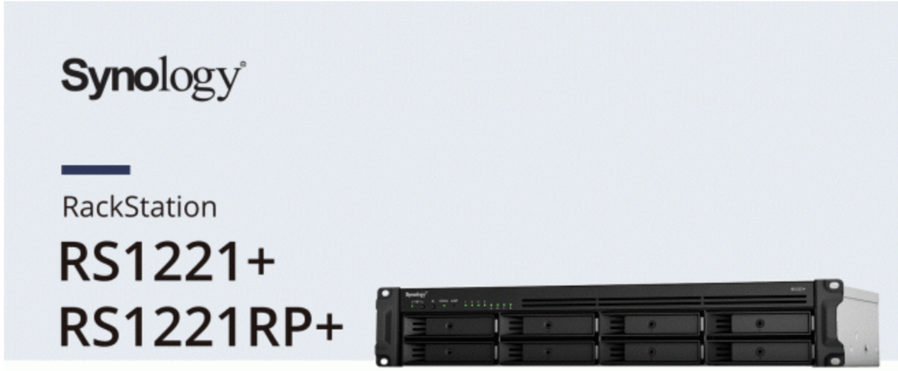 Synology announces RS1221+ and RS1221RP+ storage servers