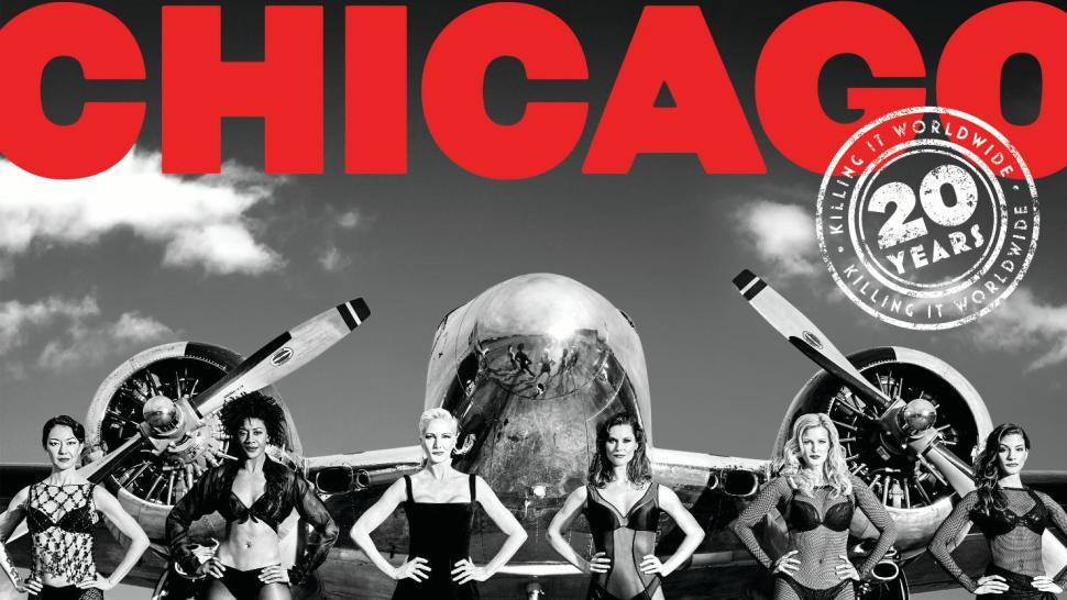 Chicago  20th Anniversary   (Max Vadukul )