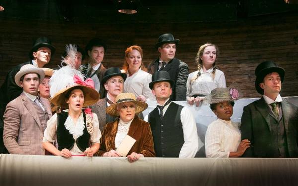 The cast of MY FAIR LADY at Ascot