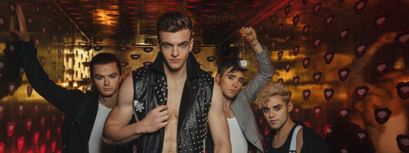 Sean Patrick Higgins, Jonno Davies, Matt Doyle & Misha Osherovich photographed at Vandal (Photos: Caitlin McNaney)