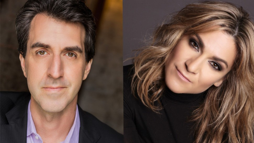 Jason Robert Brown and Shoshana Bean