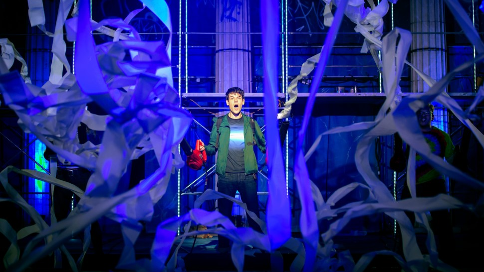 Chris McCarrell in the national tour of  The Lightning Thief  Jeremy Daniel