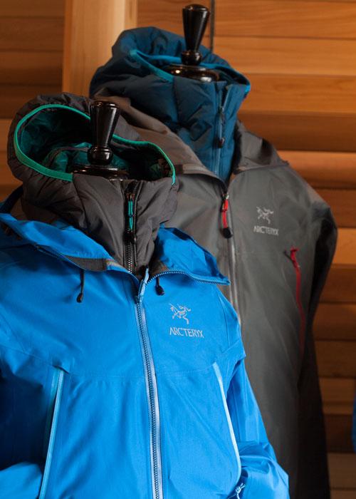 Arc'teryx jacket dealer in Tofino.
