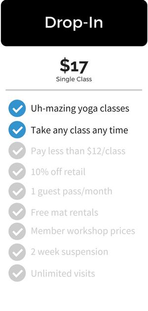 Yoga Vie Drop In