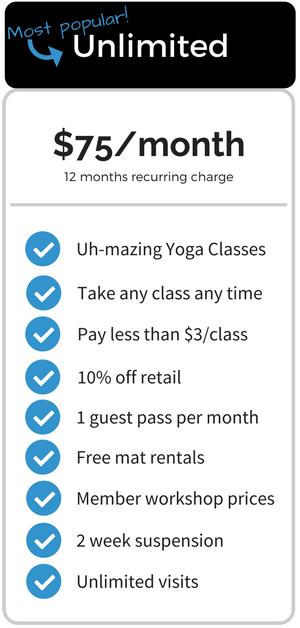Yoga Vie Membership