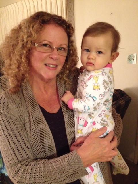 Maureen Ray and Grandchild