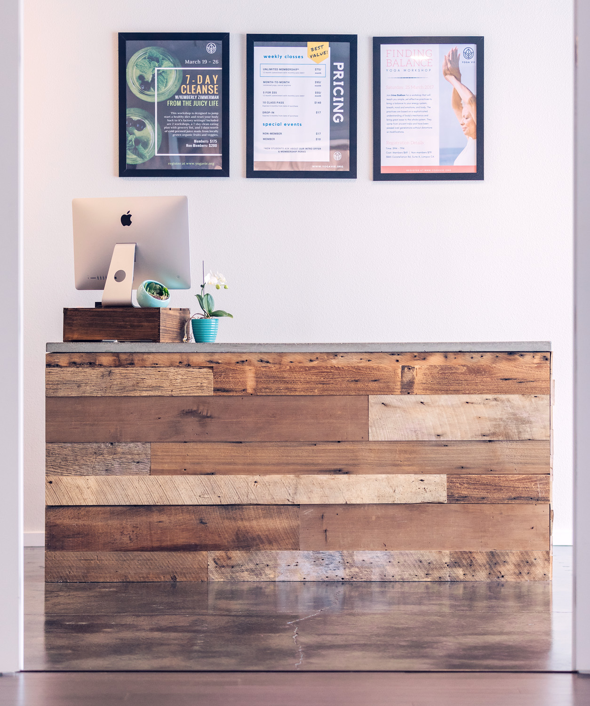 Yoga Vie Front Desk