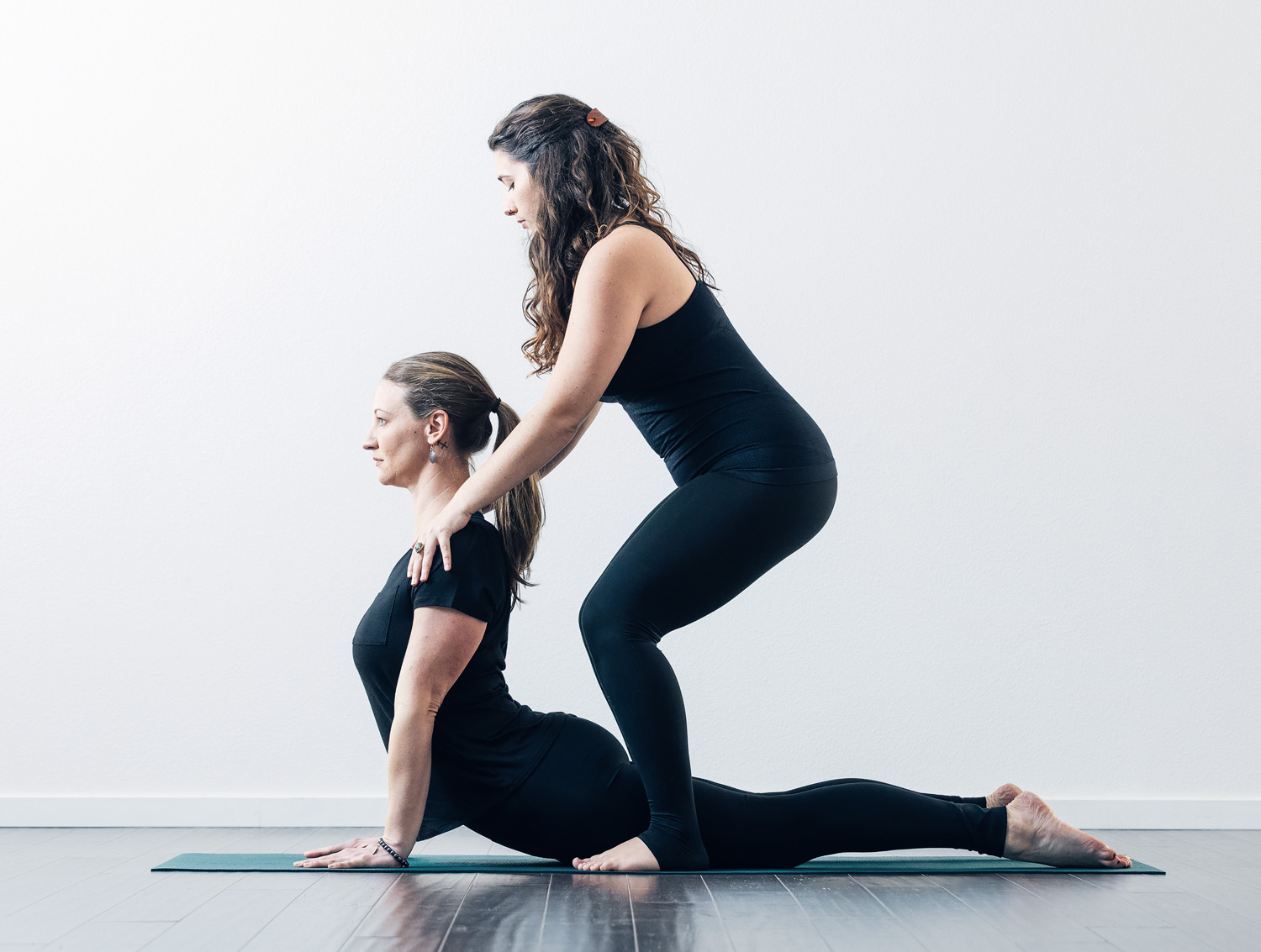 One-on-one yoga lessons