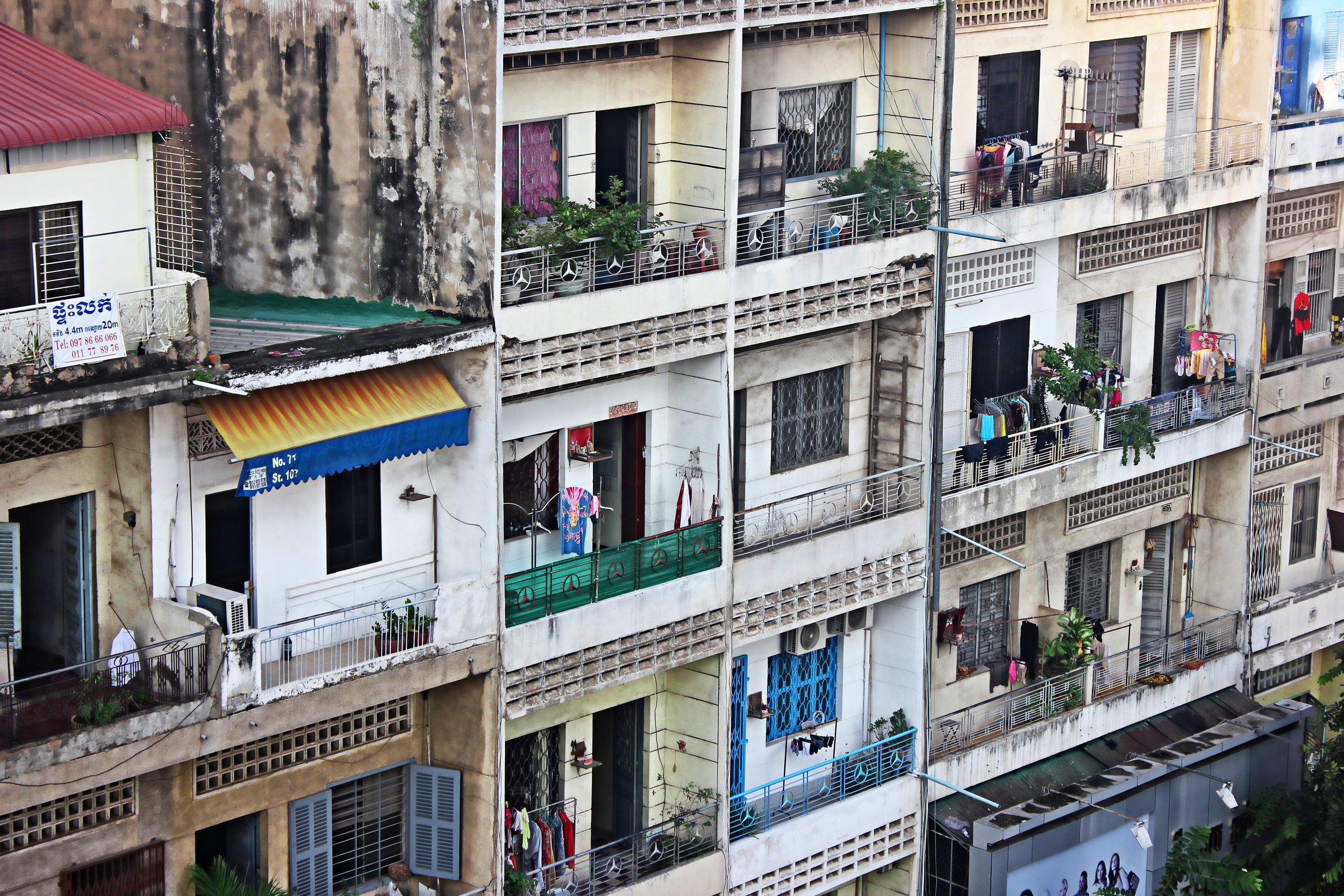 Apartments in Phnom Penh, Cambodia