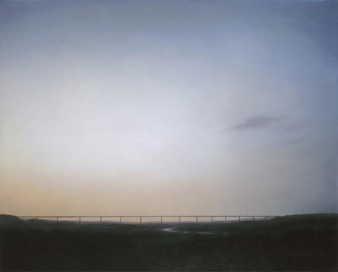 Gerhard Richter, Ruhrtalbrucke (Ruhrtal Bridge)1969, Oil on Canvas