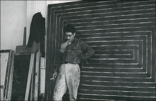 Frank Stella , New York, 1959  - Hollis Frampton