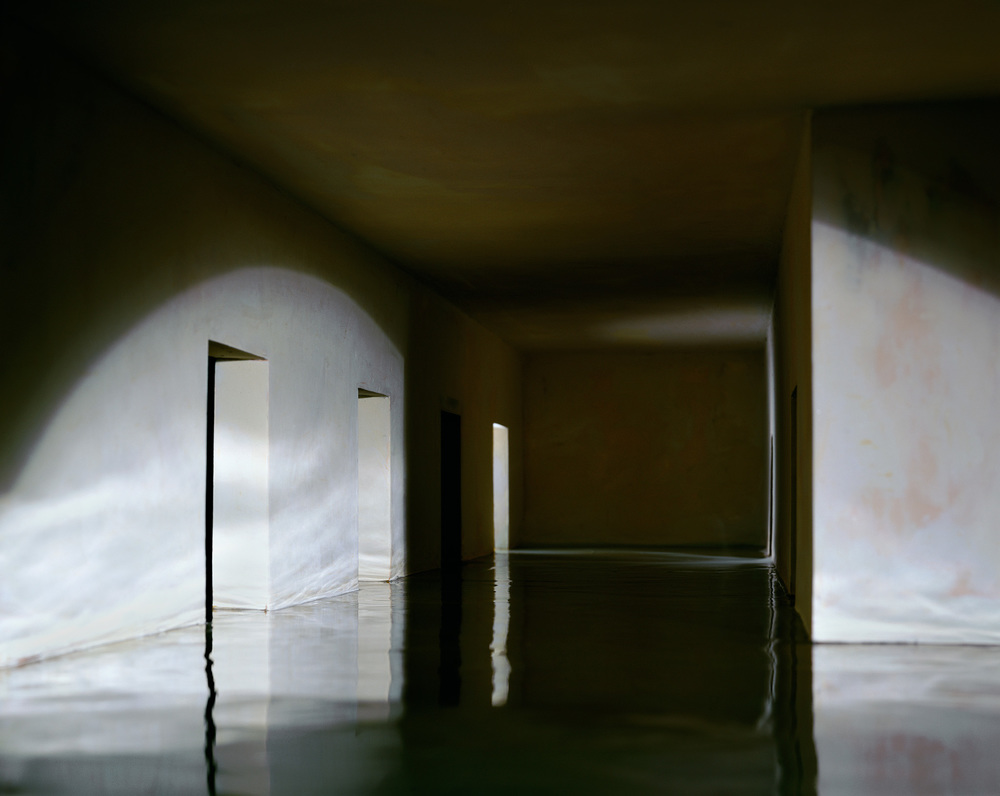 Casebere, The Flooded Hallway