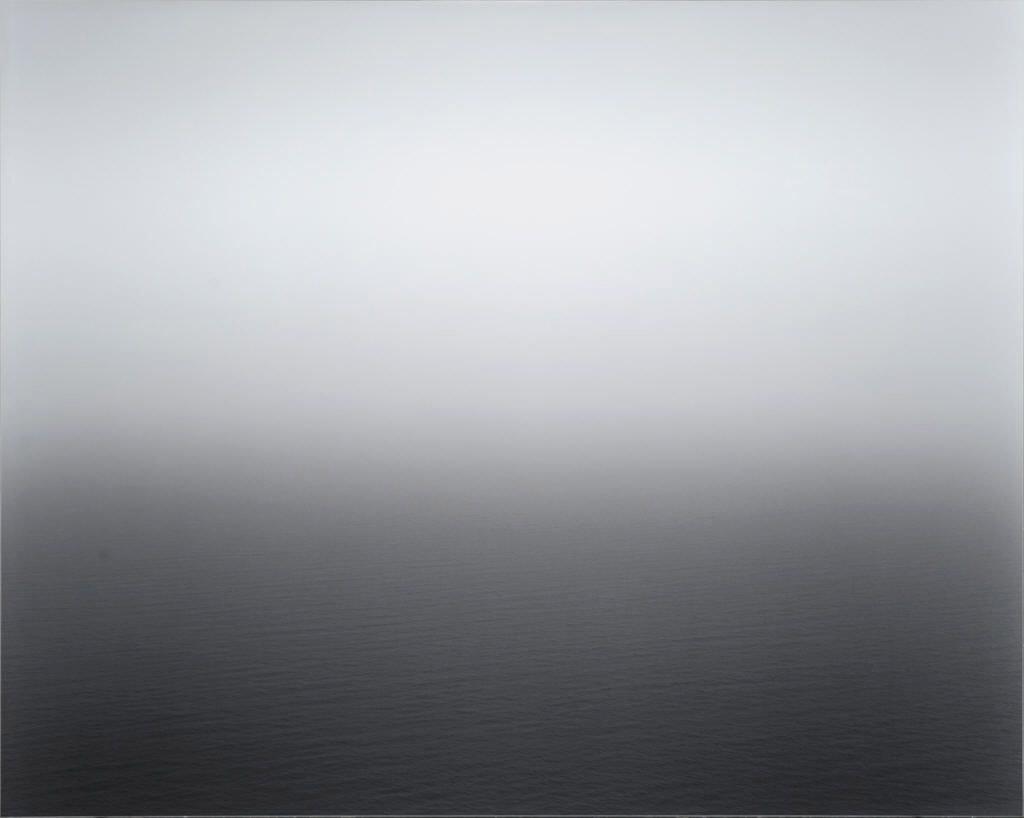 Hiroshi Sugimoto |Seascape: Aegean Sea, Pillon, 1990.    via   c4gallery