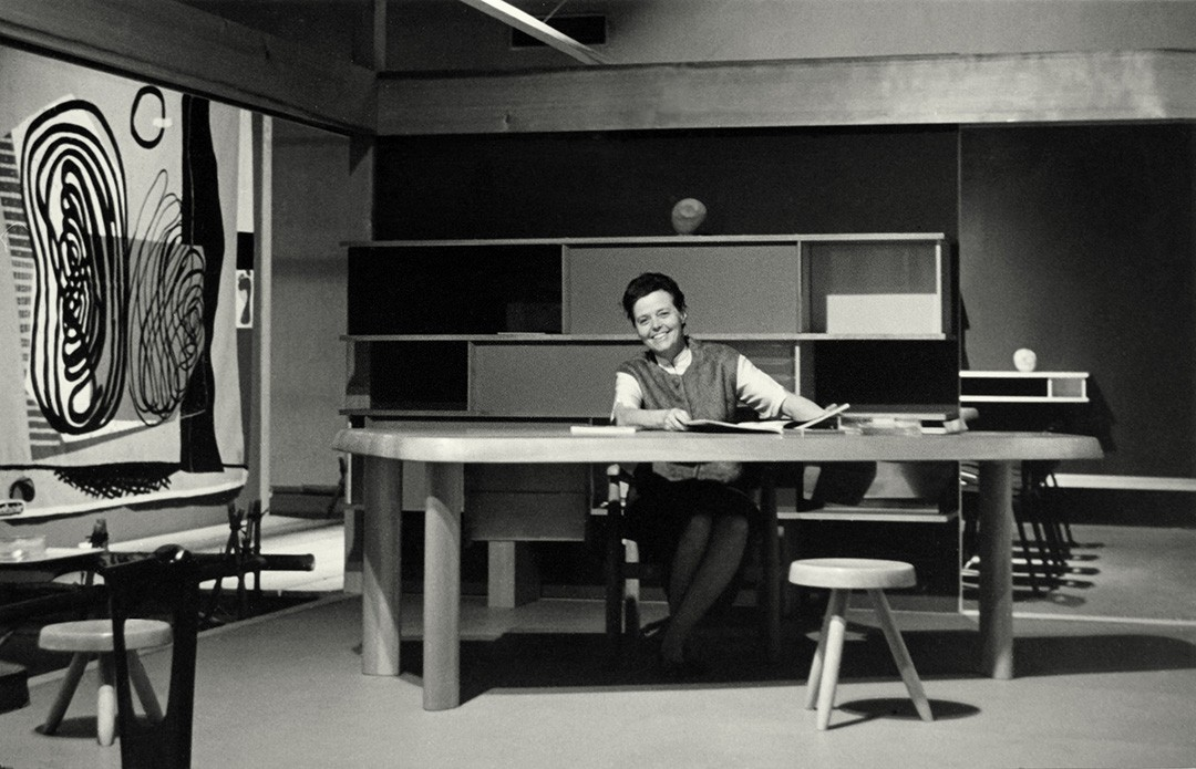 Perriand in her Studio