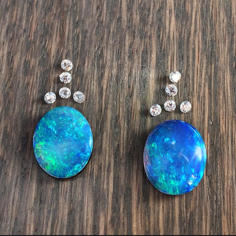 Opal and Diamond Layout