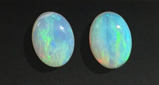 Raw Opals, Pre Doublet Transformation. Aren't they mesmerizing?