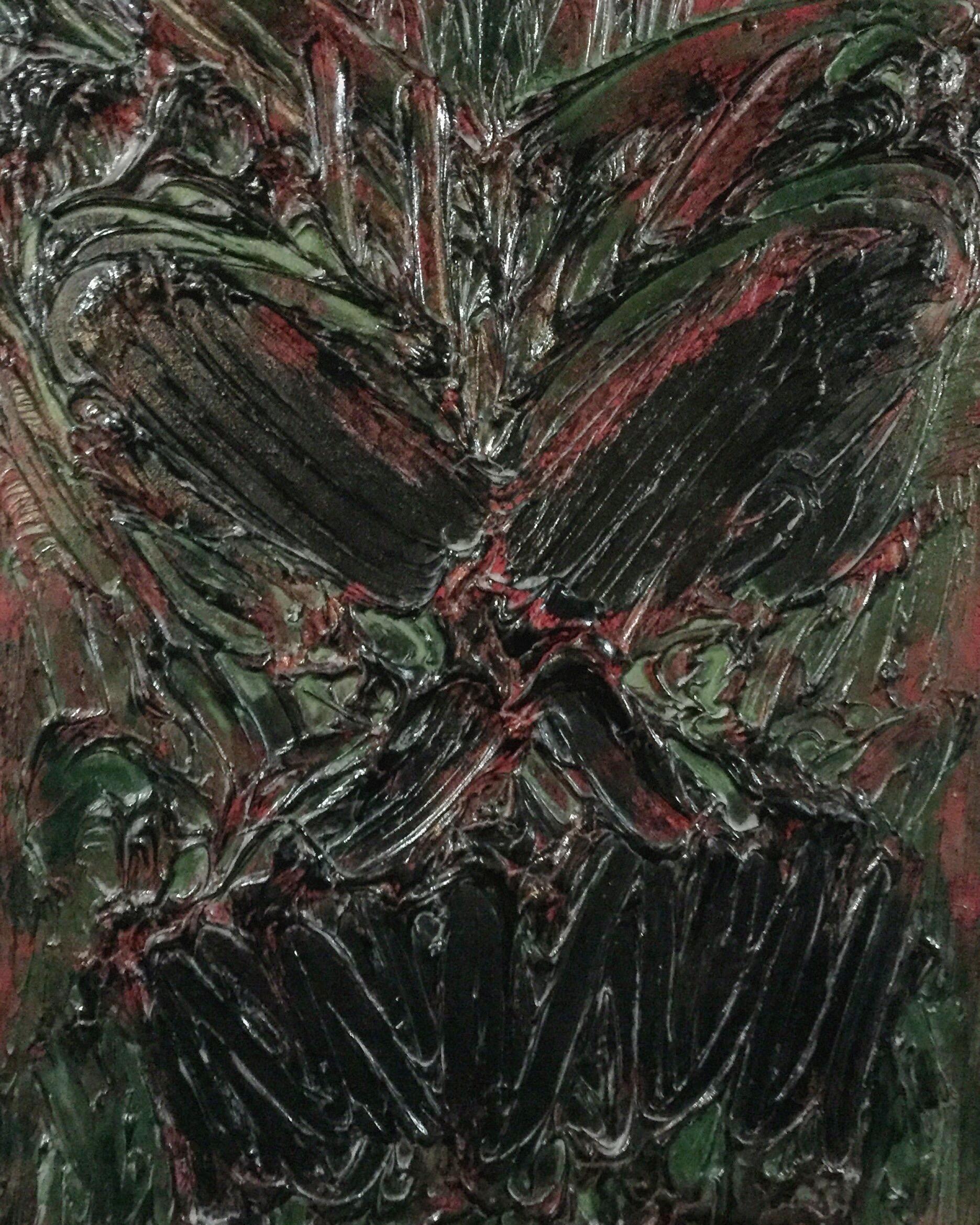 """""""Halloween II"""" acrylic on canvas 2012"""