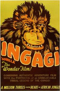 Posters and an ad for  Ingagi (1930).
