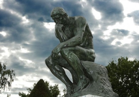 August Rodin's  The Thinker