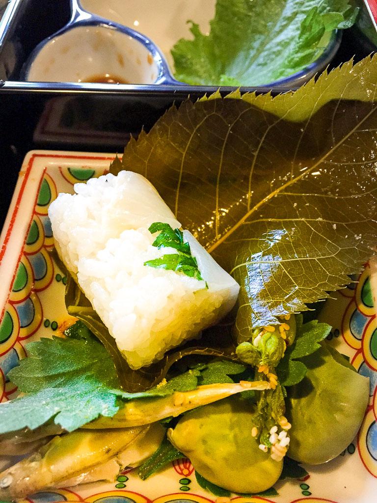 Course 2: Rice Inside the Grape Leaf