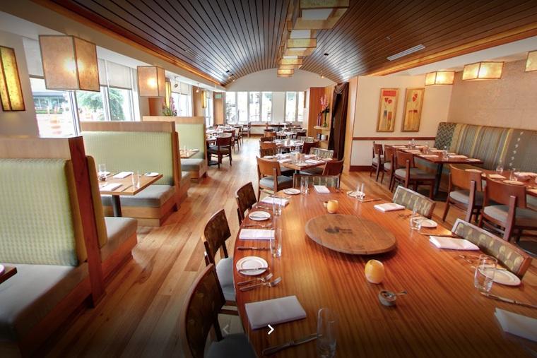 trellis restaurant flooring