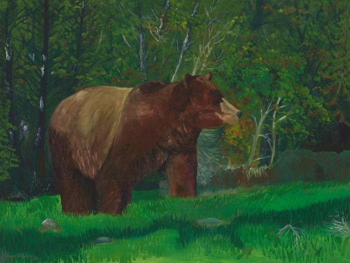 """Grizzled Perfection"" will be there along with his friends ""Harry Buffalo"" and ""Mr. Buffalo""."