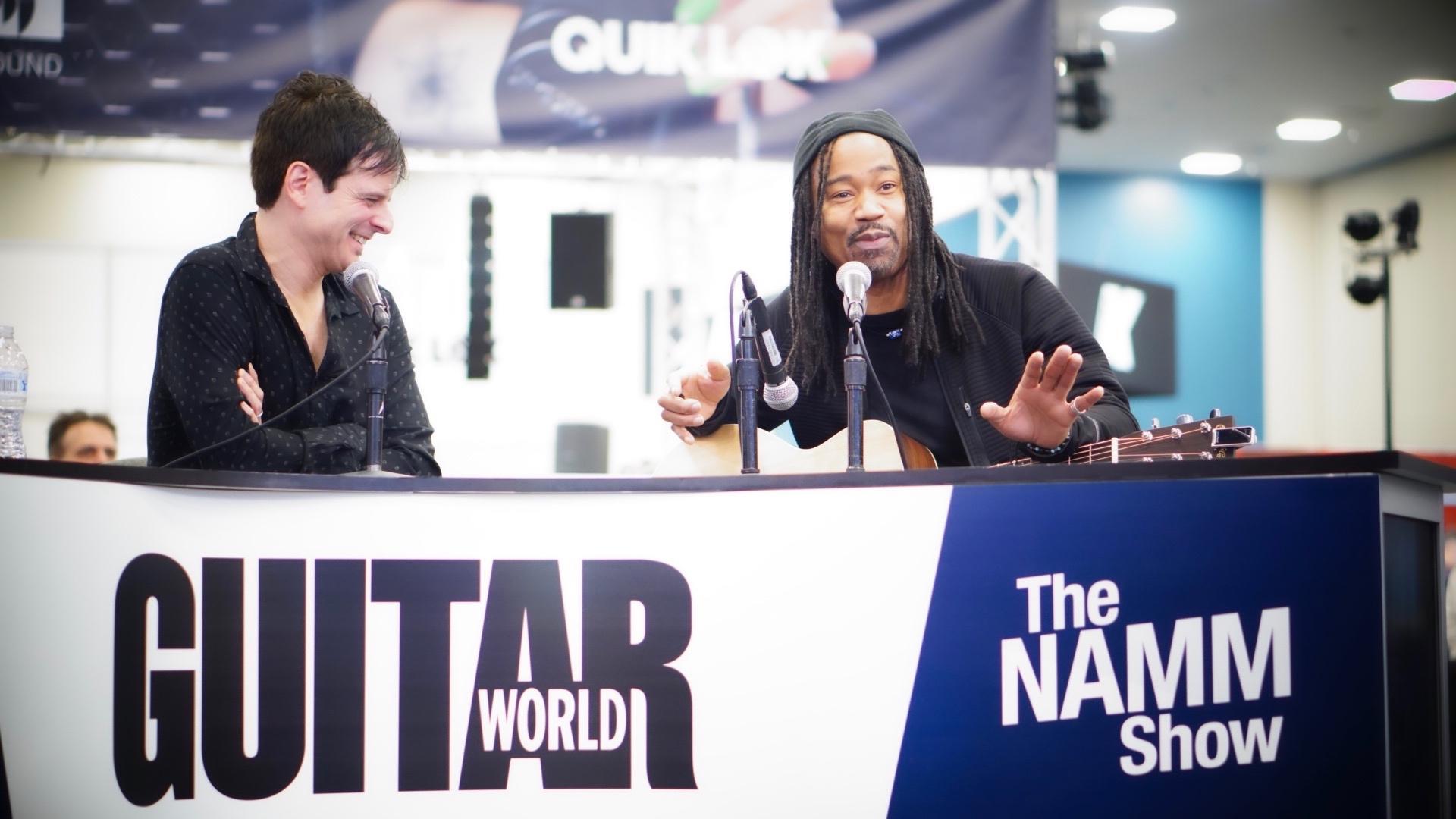 Guitar World interview