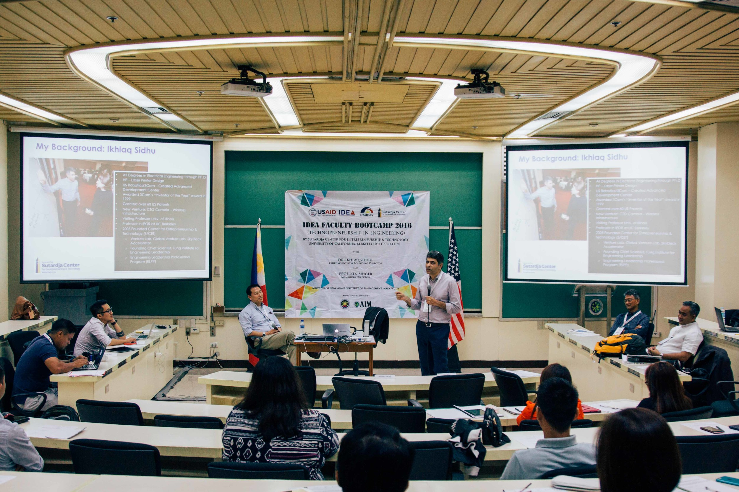 """The IDEA Faculty Bootcamp trains professors from all over the Philippines as they return and teach """"technopreneurship"""" back to their universities."""