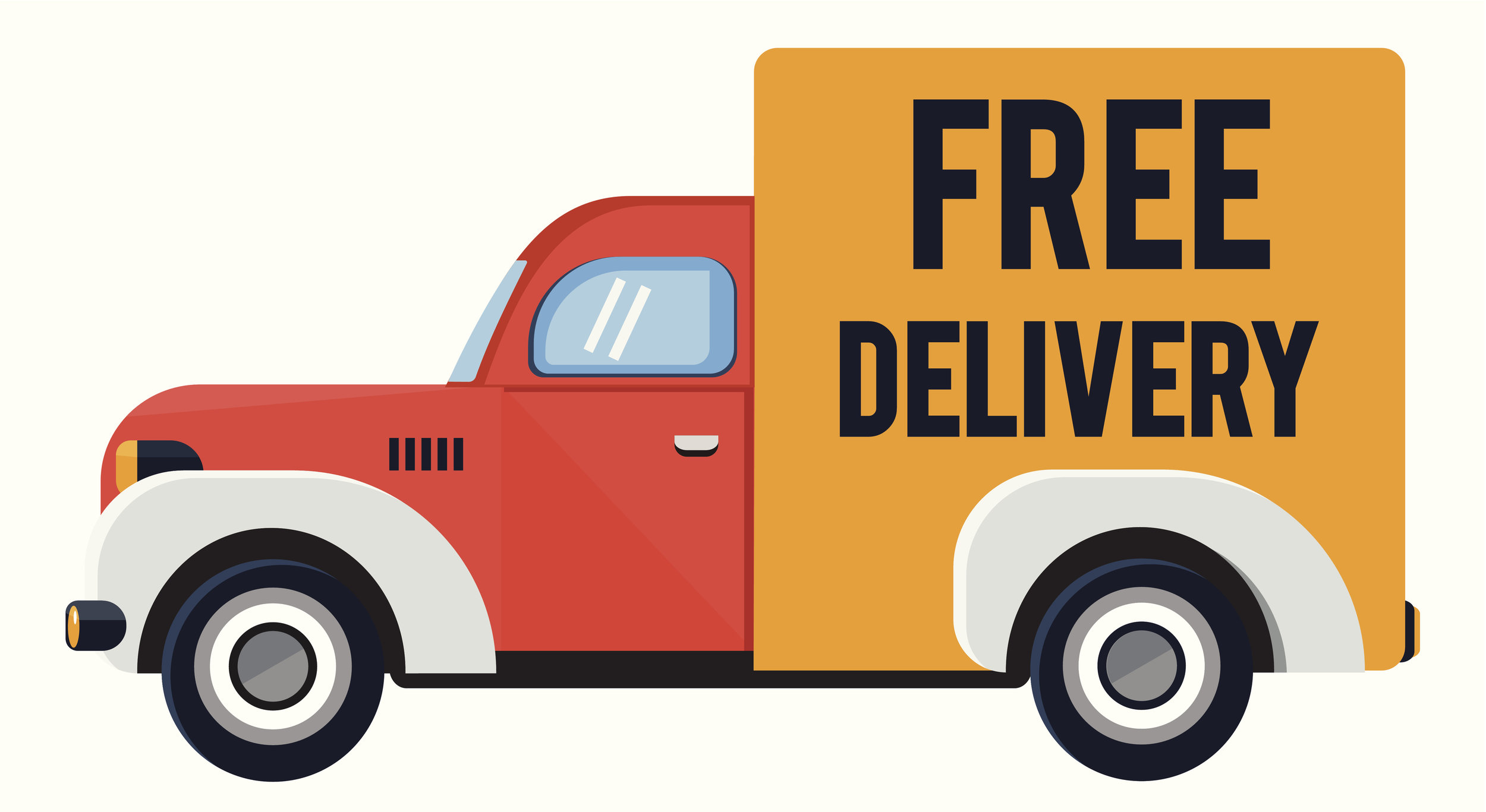 Free  Local  Delivery. We also offer favorable shipping rates on UPS & FedEx deliveries to all 50 states