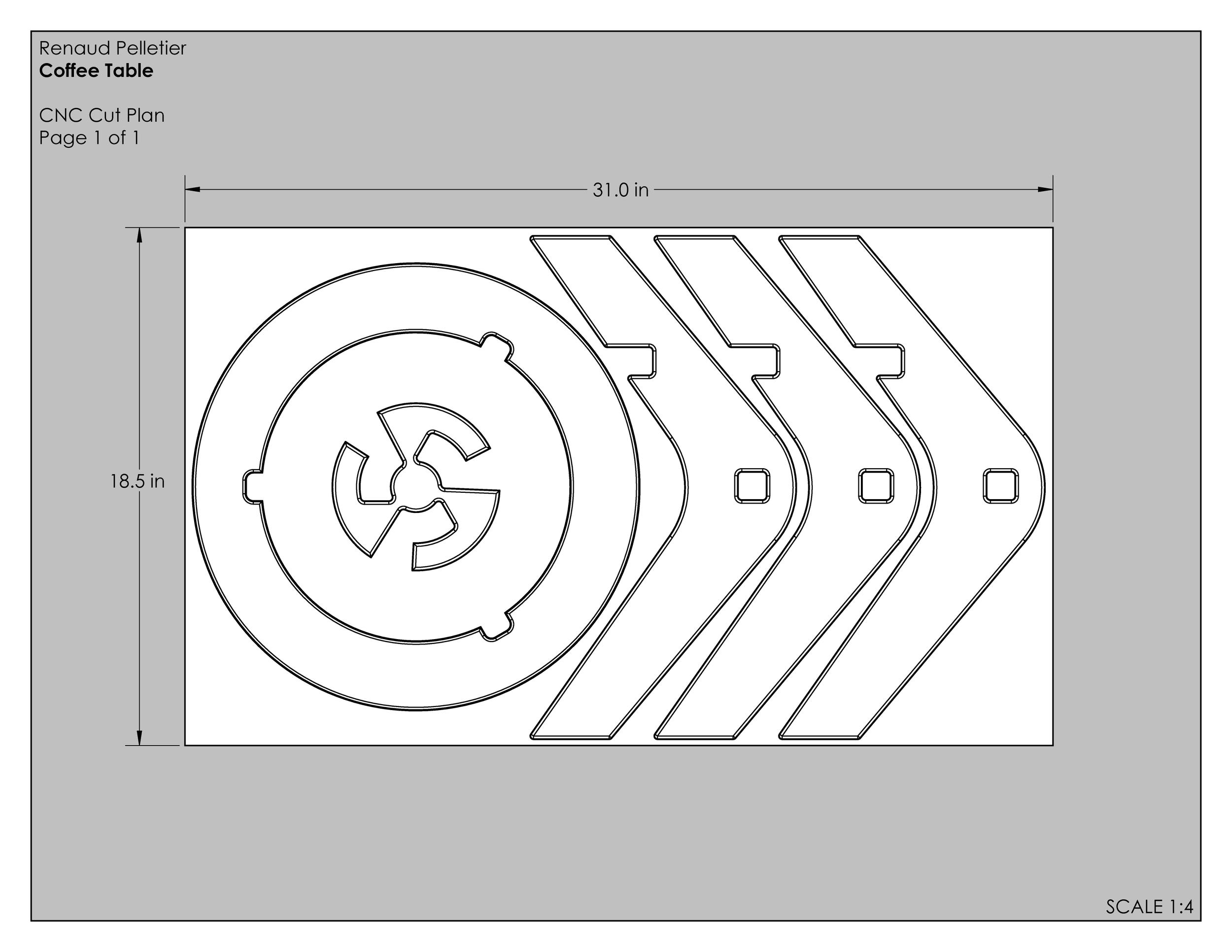 CNC Cut Plan