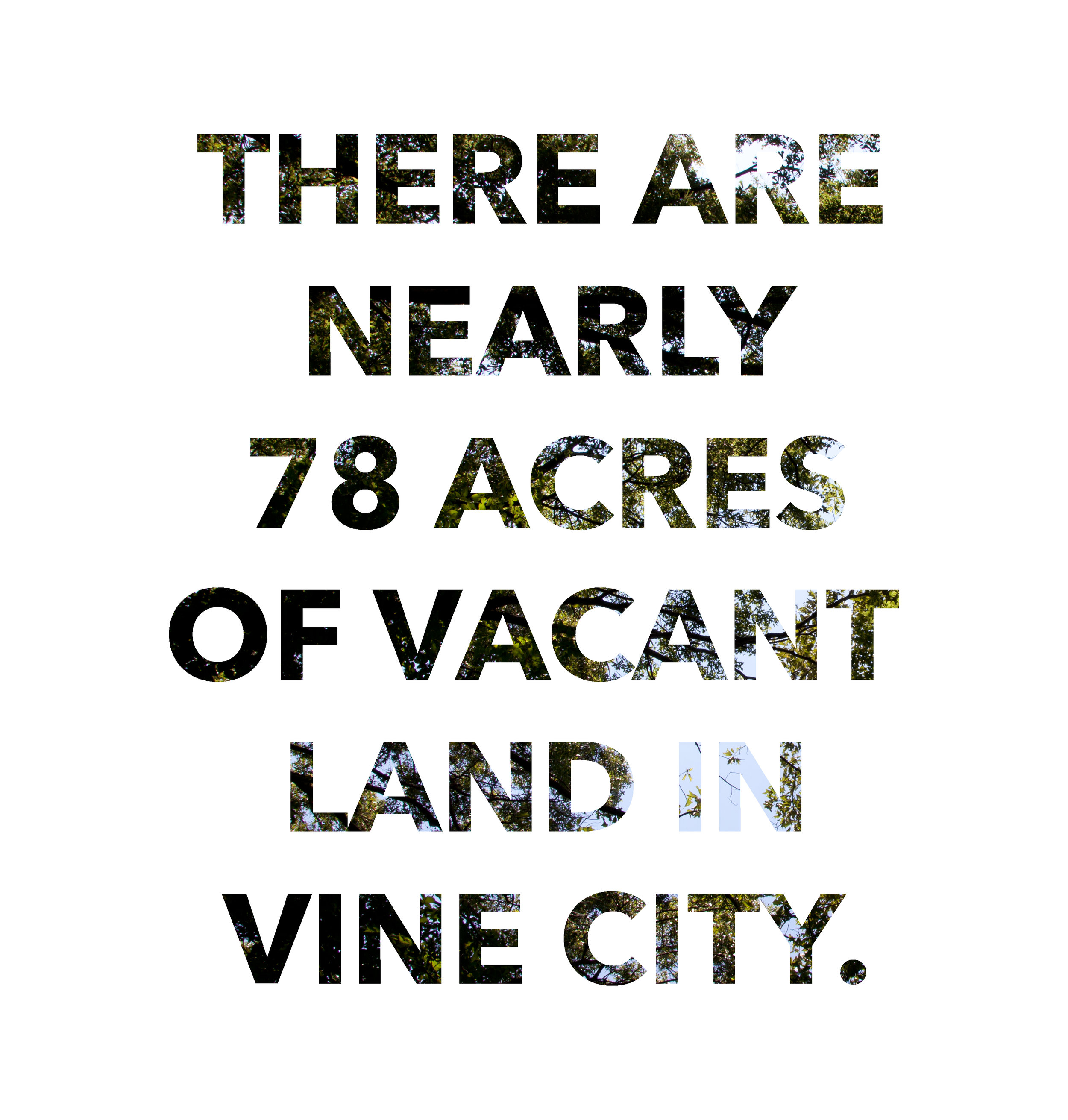 Vine City is a notoriously poor neighborhood on the city's west side.