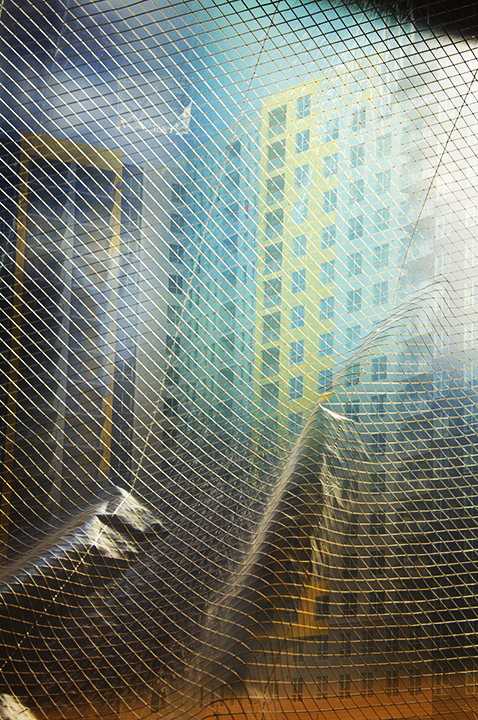 Peachtree Place V, 2016, Archival pigment print, 54in x 37in, framed