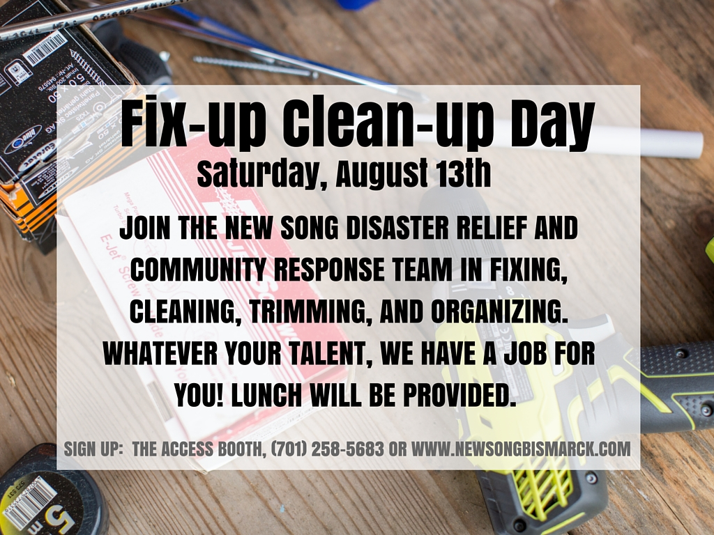 You can help for the full day, or just part of it! Contact the Church office if you have any questions!