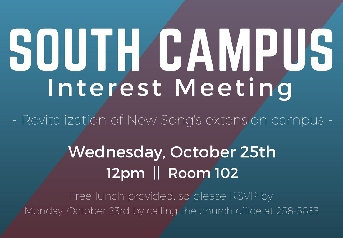 South Campus Interest Meeting [10.25.17].png