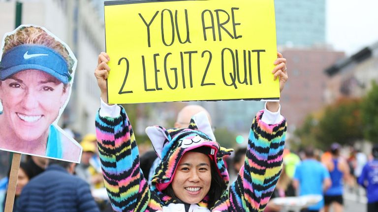 cheer on nyc marathon runners