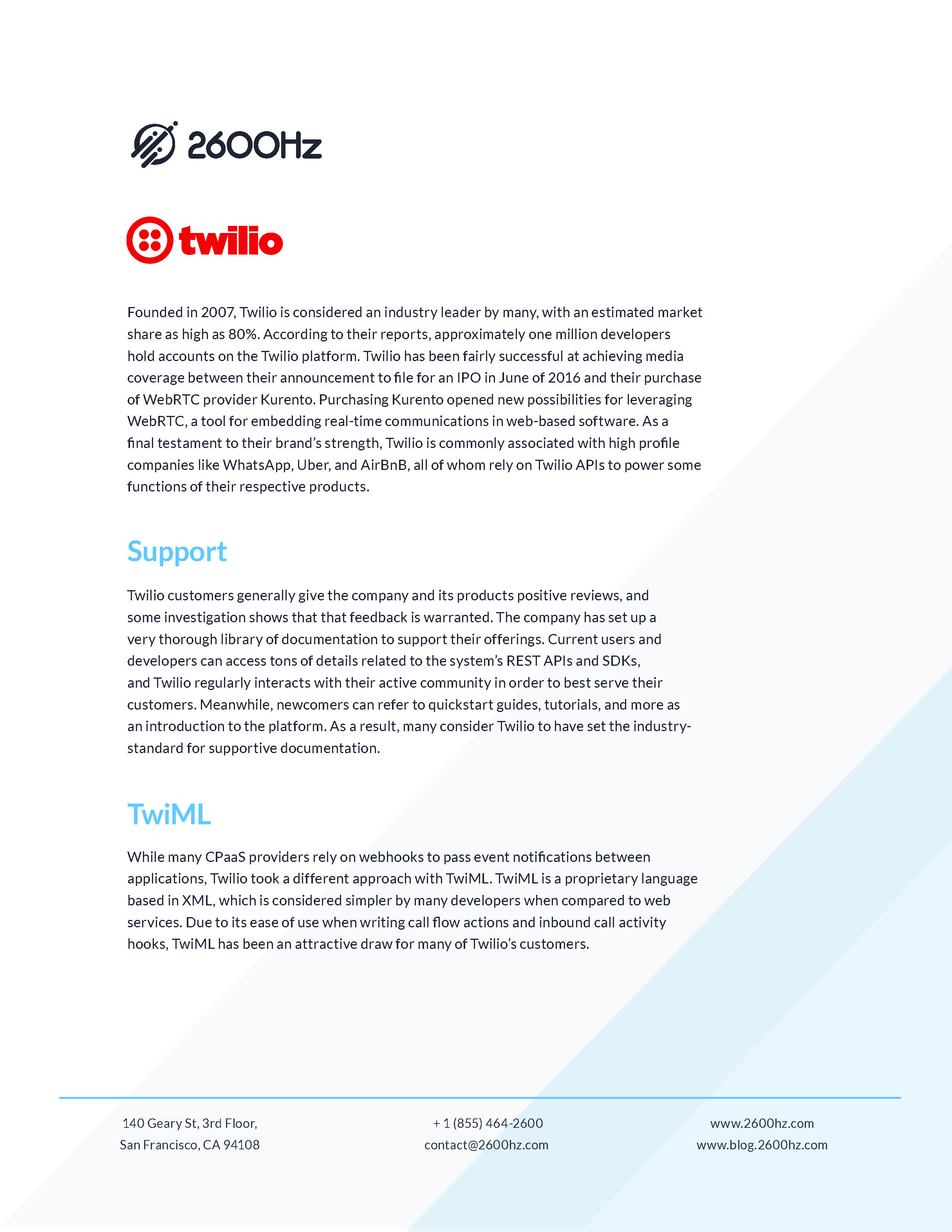 Whitepaper Page