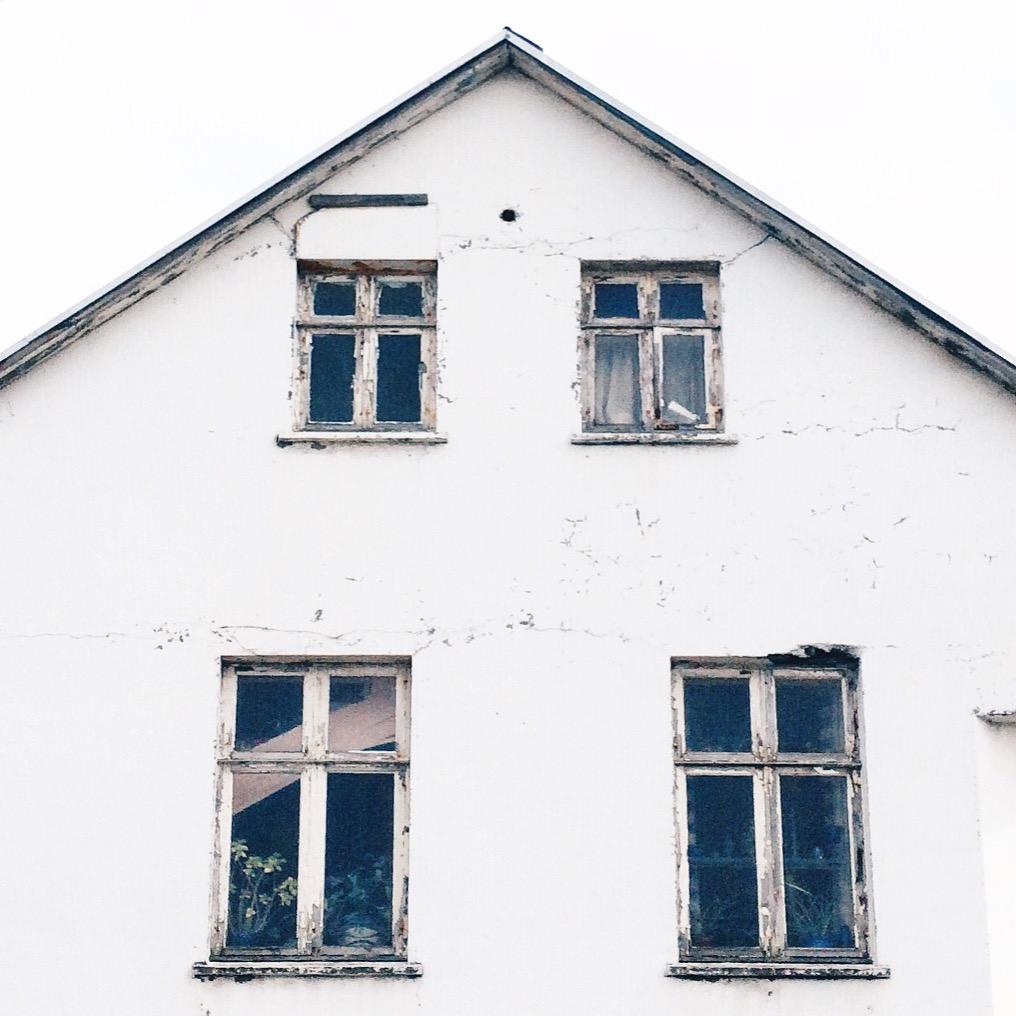 My favorite house in Reykjavik via  Instagram