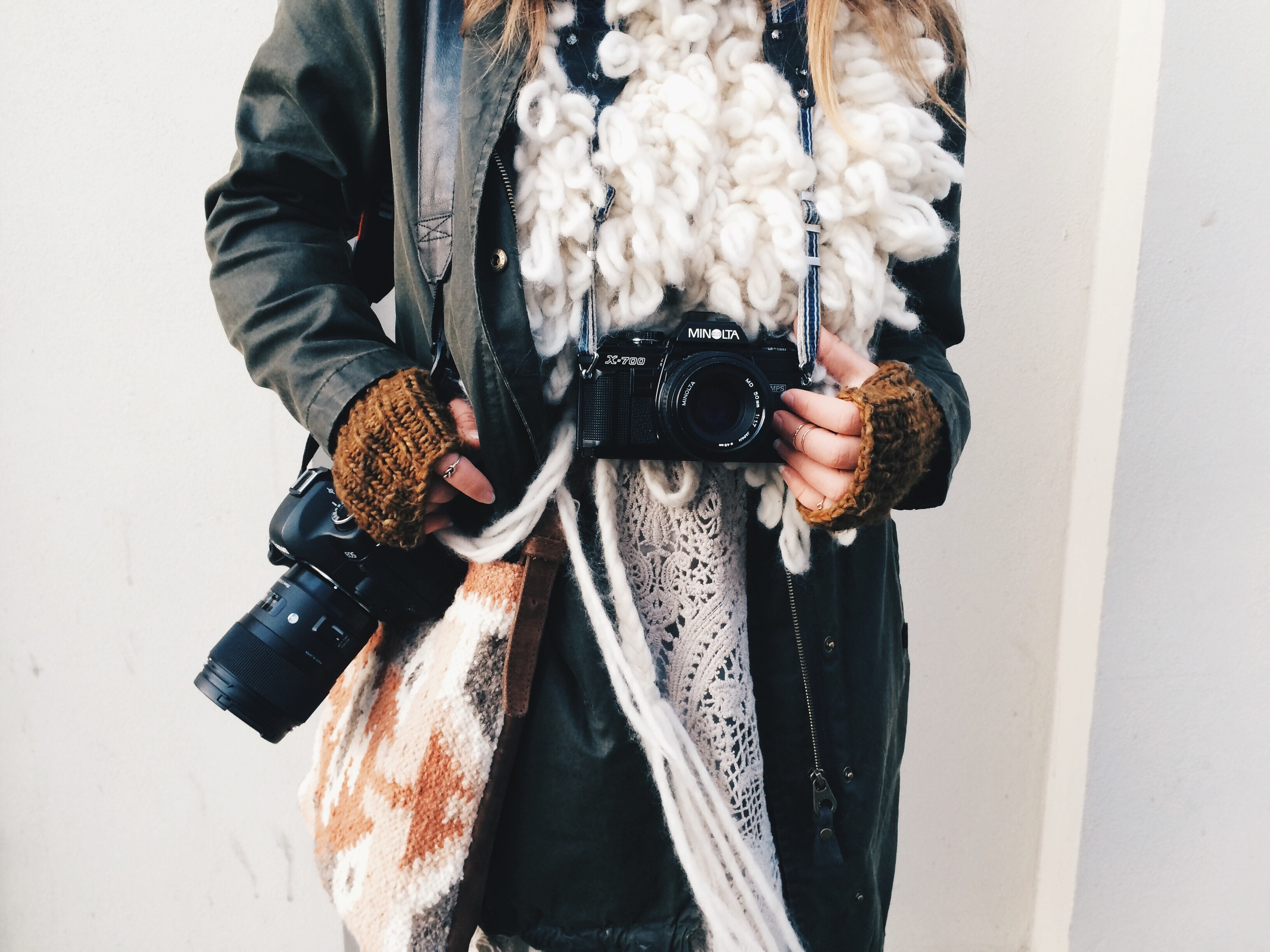 The Traveling Photographer / A Girl Named Leney