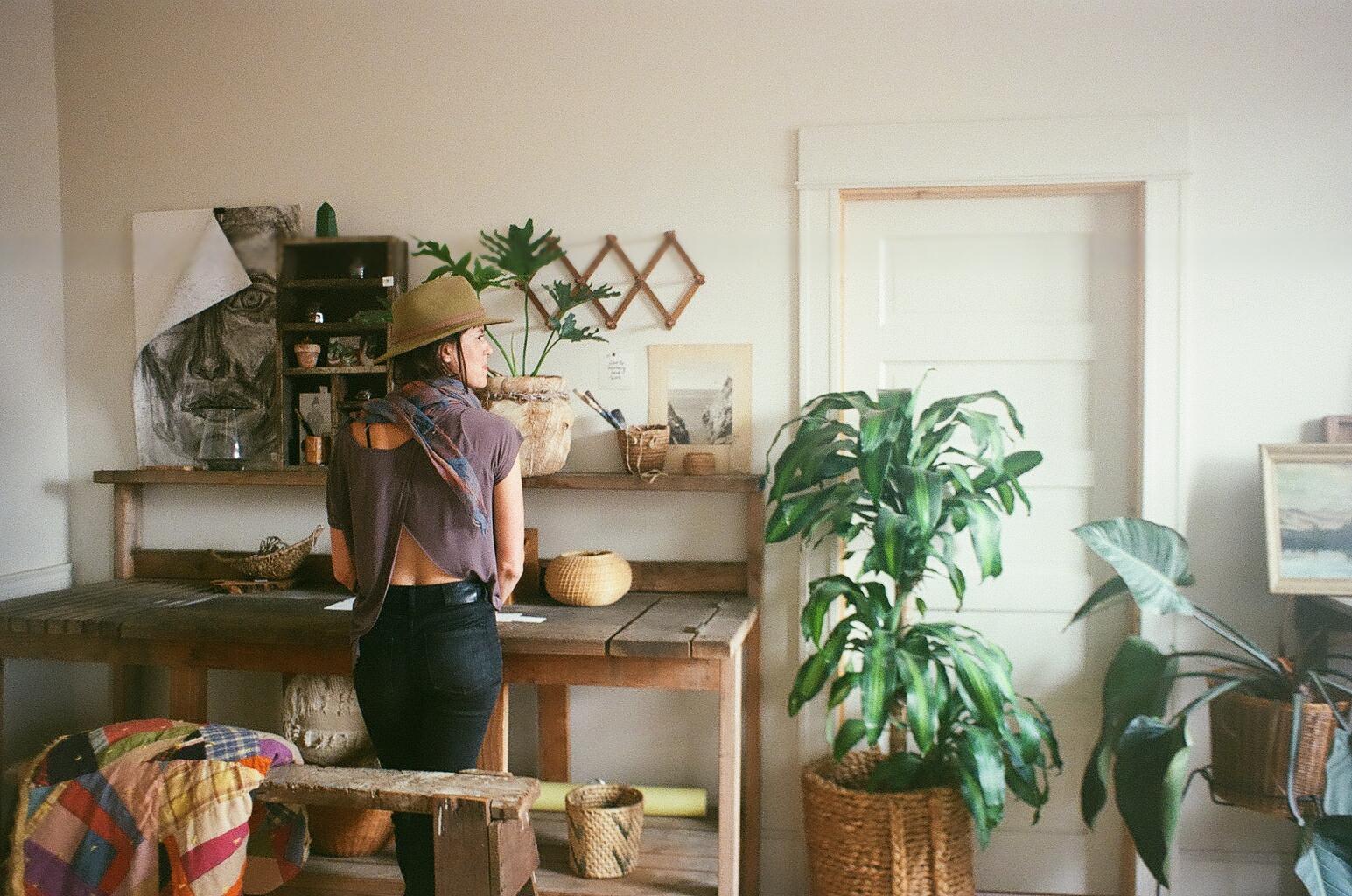 Anna of Experimental Vintage In Portland Oregon -