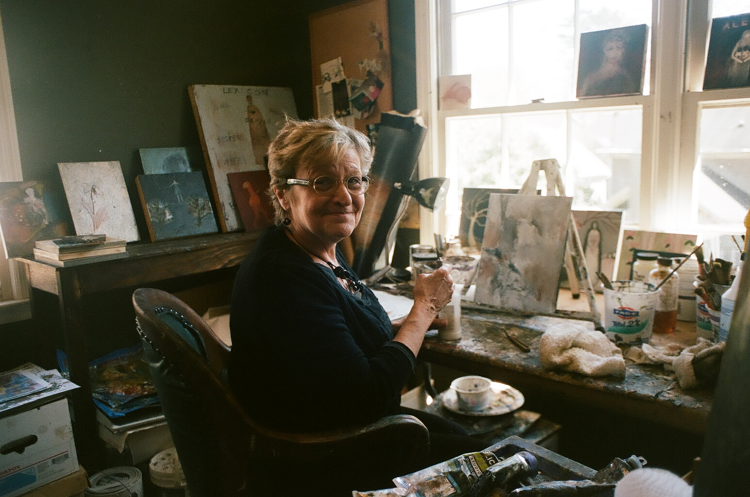 Jeanie Tomanek of Everywoman Art in Marietta Georgia -