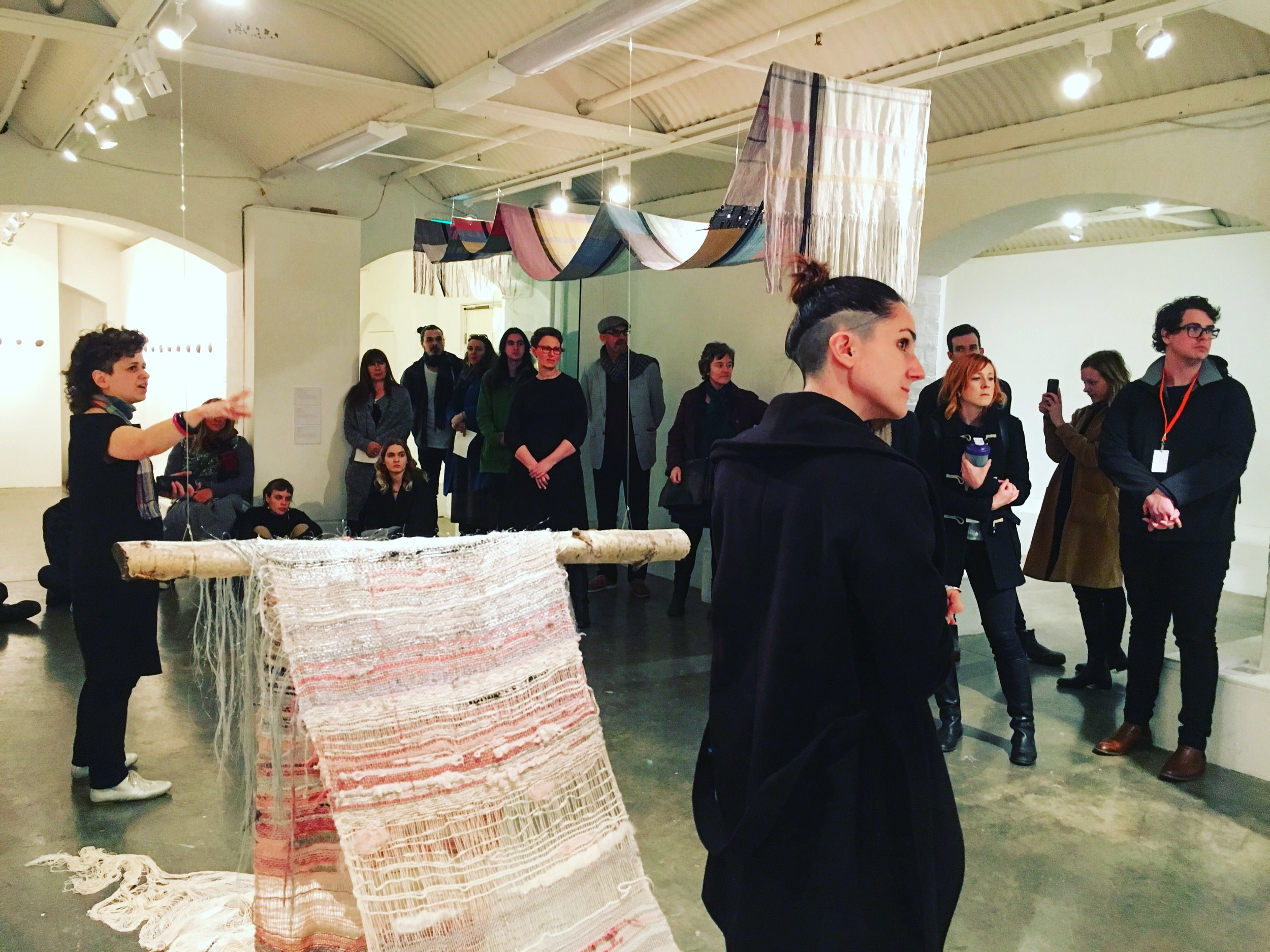 Ana Petidis' artist talk, 26 August 2016
