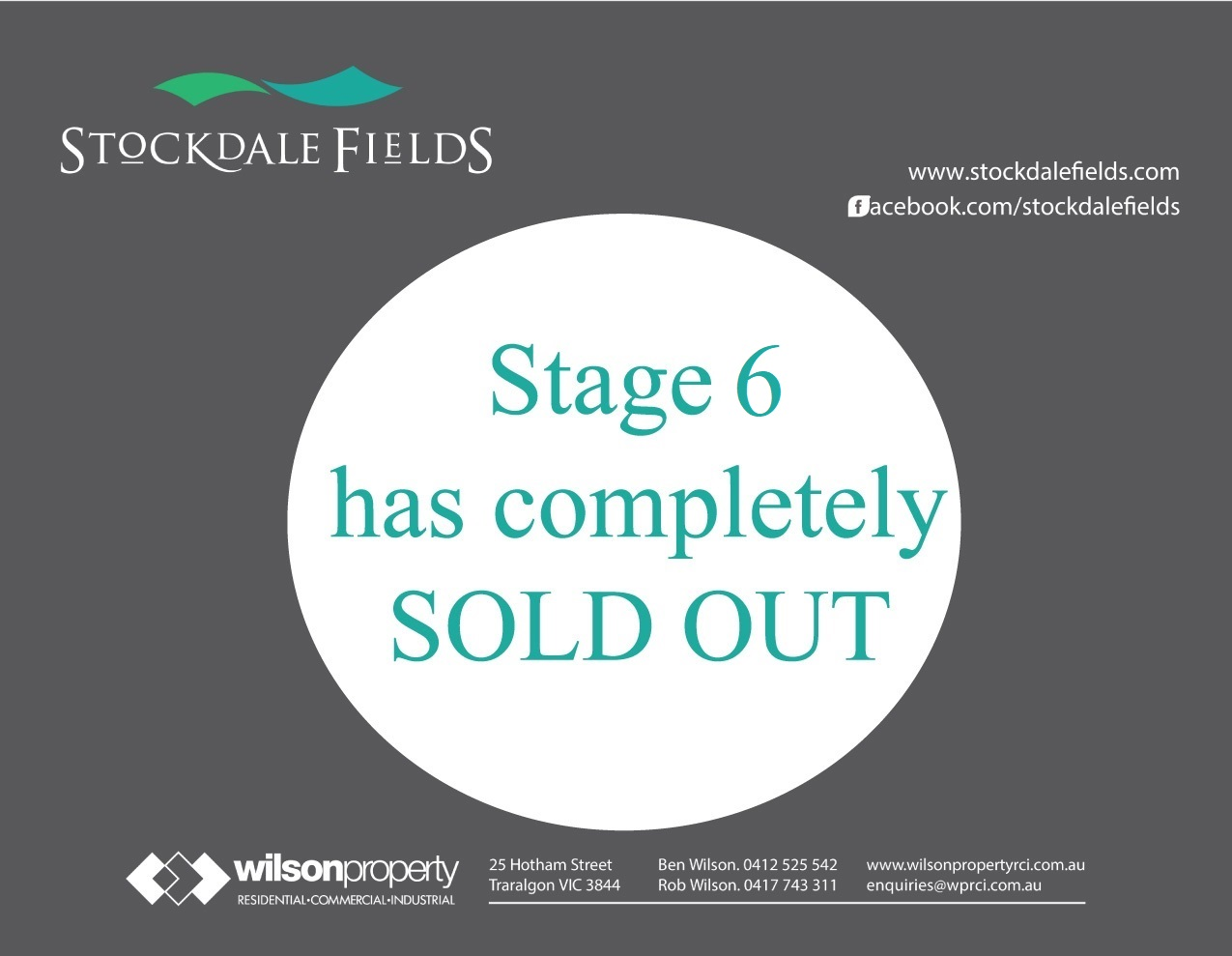 Stage 6 completely sold out.jpg