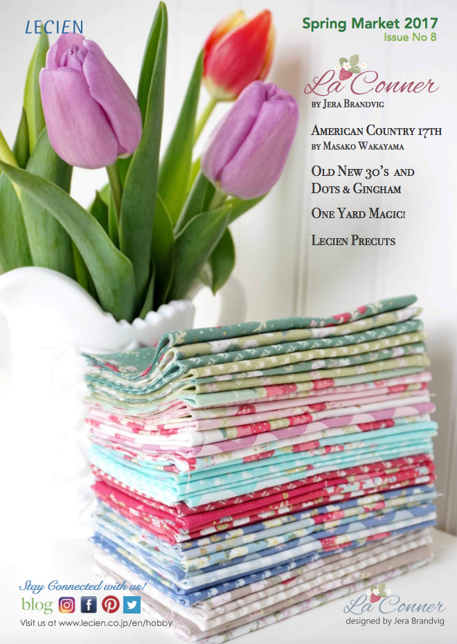 Lecien Fabrics Spring Market 2017 ISSUU No.8