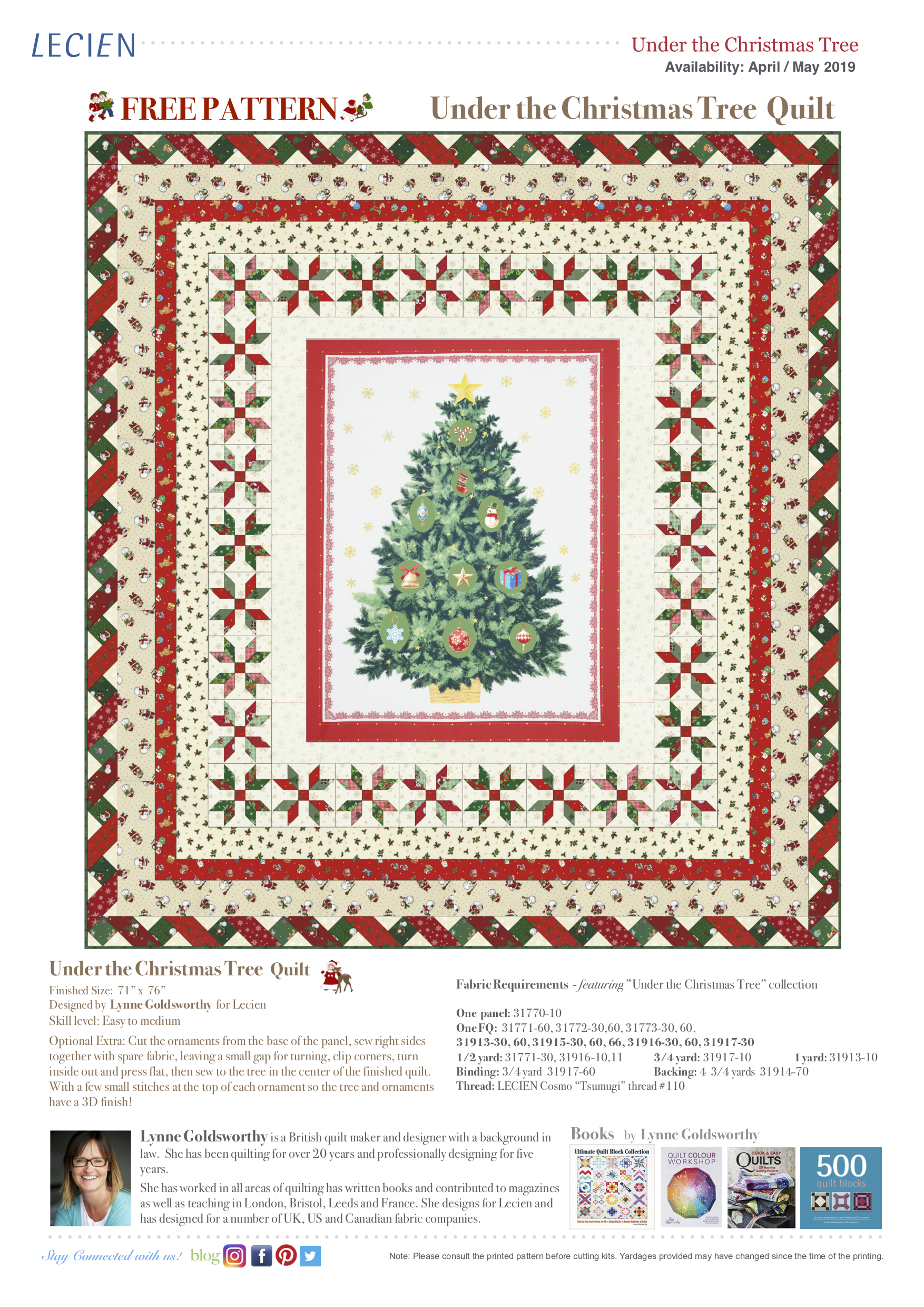 Under the Christmas Tree Quilt