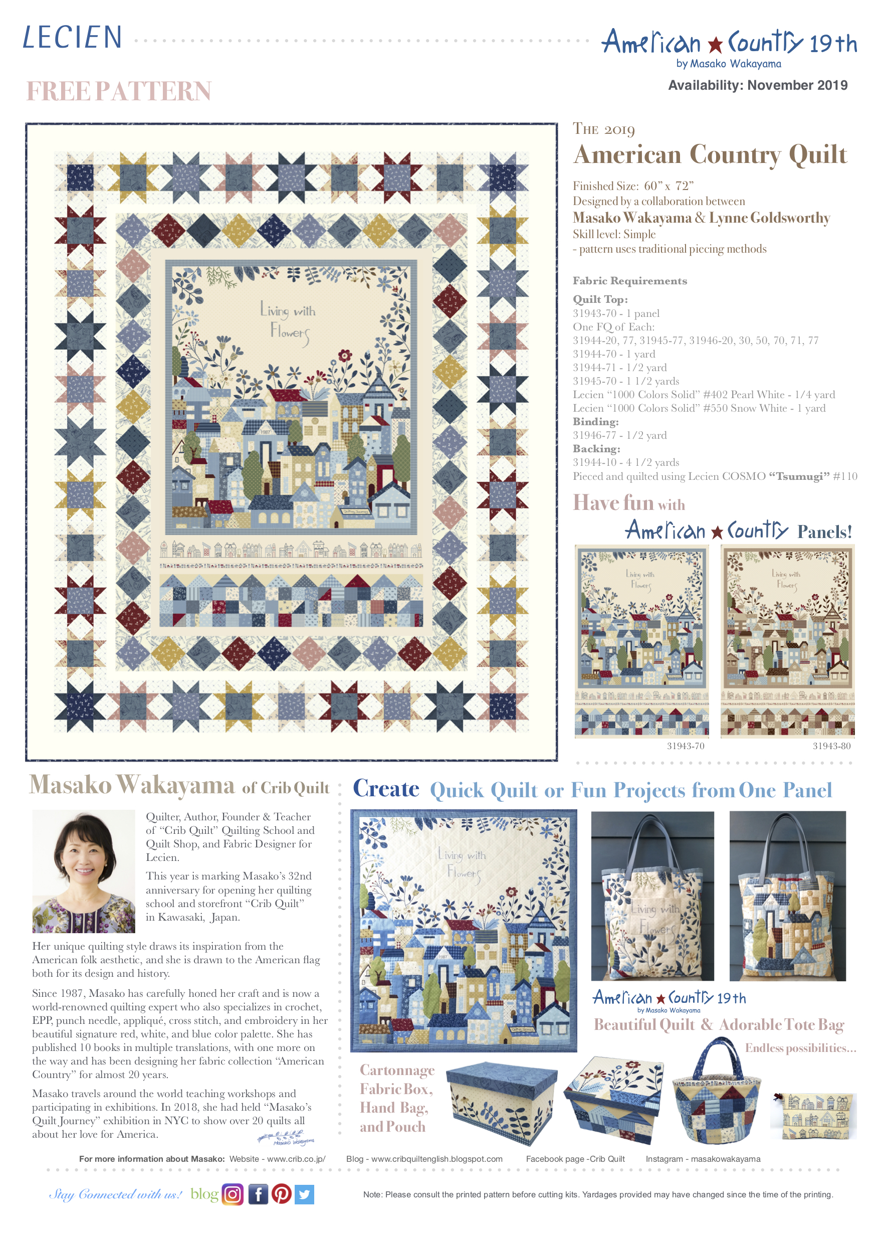 The American Country 19th Quilt