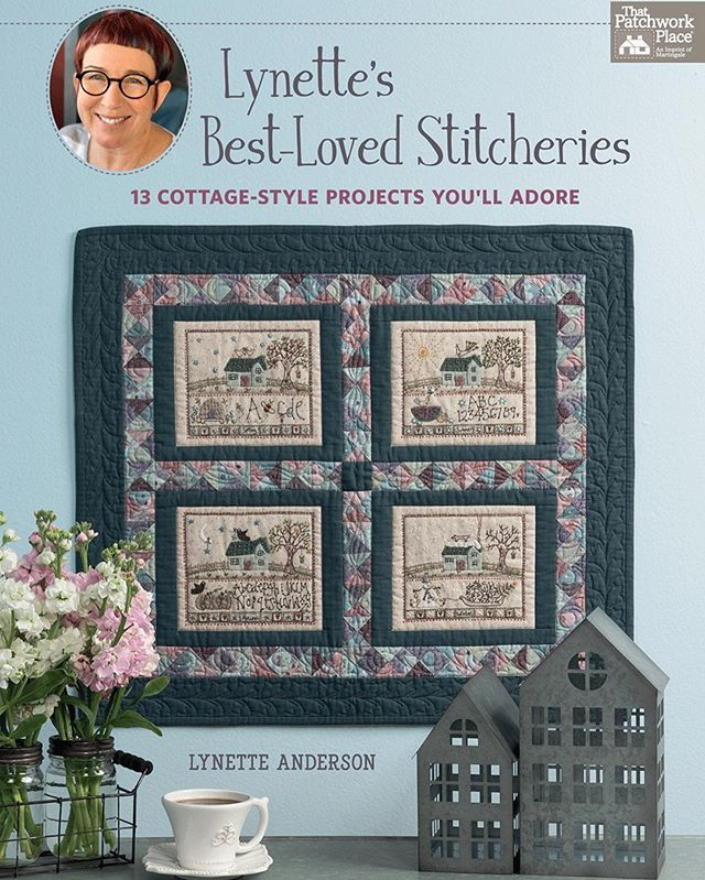 "🎉🎉🎉Congratulations!! 🎉🎉🎉Our fabric designer Lynette Anderson's @lynetteandersondesigns new book ""Lynette's Best-Loved Stitcheries - 13 Cottage-Style Projects You'll Adore"" by Martingale @martingaletpp is out and they are having a wonderful book, fabric, and thread giveaway! Make sure to enter at Martingale's blog https://blog.shopmartingale.com/quilting-sewing/stitchery-stitcheroo-new-lynette-anderson-designs-will-charm-you/  This wonderful book is packed with sweet and adorable projects that make you smile by just looking at pictures. :) Hope you don't miss this opportunity, good luck! 🧵🐶🐱🌼 #LynetteAnderson #lynetteandersonfabric #OneStitchAtATimeCollection #adorable #giveaway #martingale #Martingalebook #LynetteAndersonBook #Lynettesbestlovedstitcheries  #lecien #lecienfabrics #lecien_fabrics #OneStitchAtATimebyLynetteAnderson #onestitchatatimefabric #sewing #stitching #quiltingfabric #fabric #ルシアン #quilt #animals #puppufabric #kittyfabric #applique #stitching #embroidery #leciencosmo #cosmofloss #lecien_cosmo"