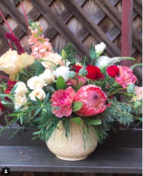 Custom Vase Arrangement 11 - $85